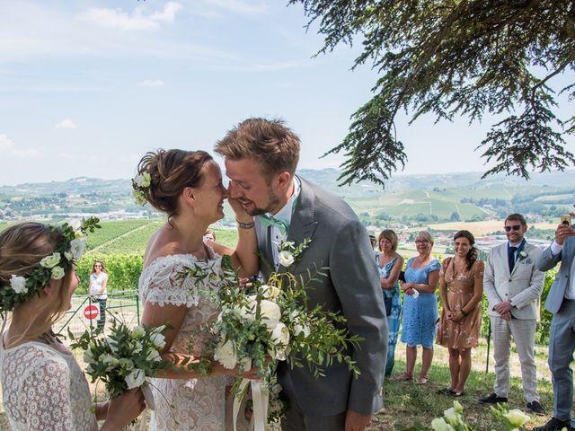 Il matrimonio di Jarle e Hedvig a La Morra, Cuneo 40