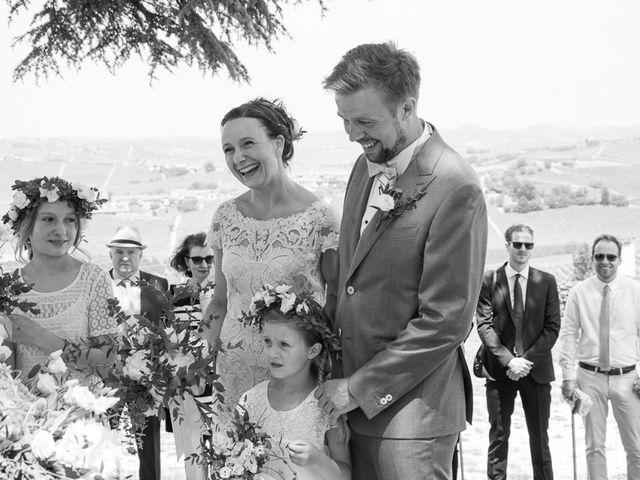 Il matrimonio di Jarle e Hedvig a La Morra, Cuneo 43