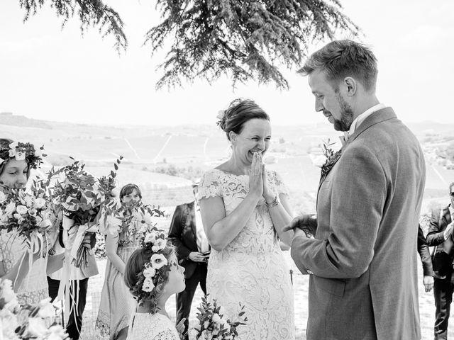 Il matrimonio di Jarle e Hedvig a La Morra, Cuneo 46