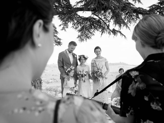 Il matrimonio di Jarle e Hedvig a La Morra, Cuneo 47