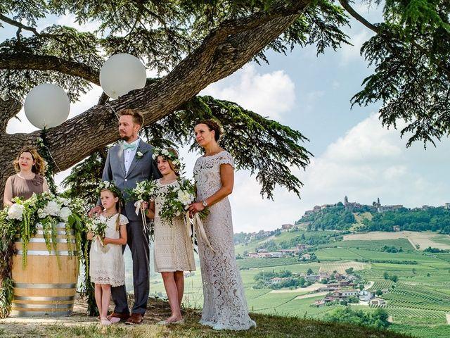 Il matrimonio di Jarle e Hedvig a La Morra, Cuneo 48