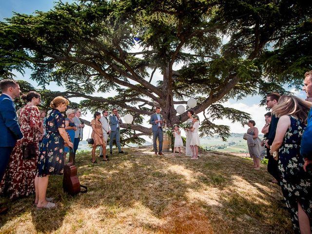 Il matrimonio di Jarle e Hedvig a La Morra, Cuneo 49