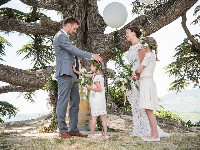 Il matrimonio di Jarle e Hedvig a La Morra, Cuneo 50