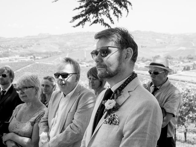 Il matrimonio di Jarle e Hedvig a La Morra, Cuneo 51