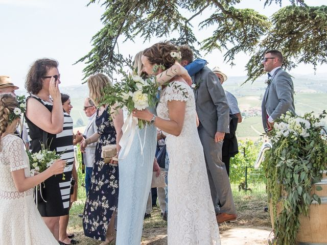 Il matrimonio di Jarle e Hedvig a La Morra, Cuneo 54
