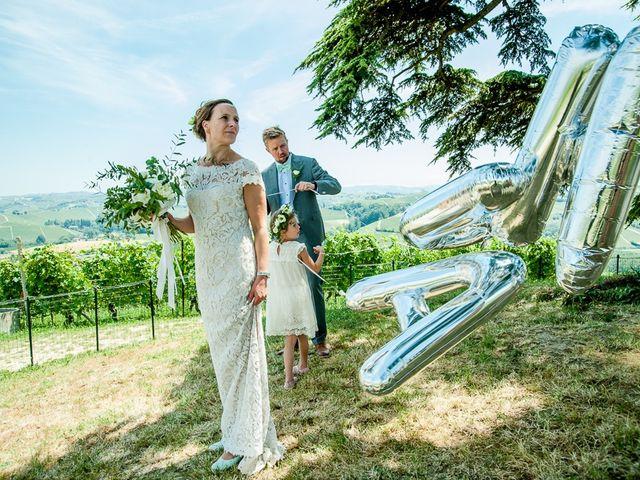 Il matrimonio di Jarle e Hedvig a La Morra, Cuneo 65