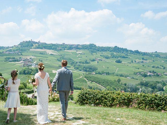Il matrimonio di Jarle e Hedvig a La Morra, Cuneo 66