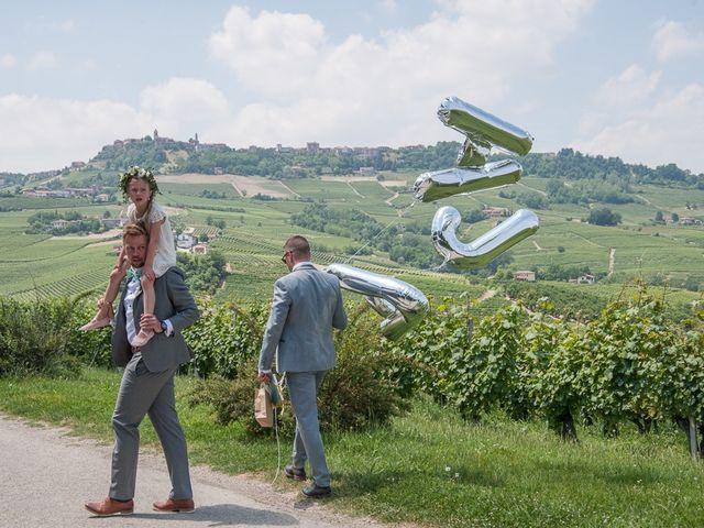 Il matrimonio di Jarle e Hedvig a La Morra, Cuneo 68