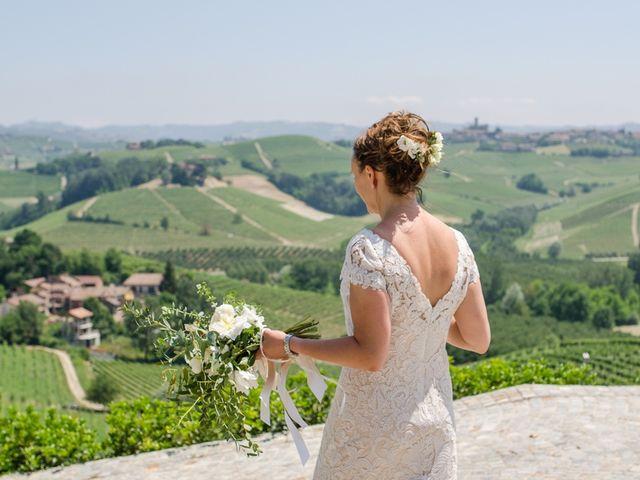 Il matrimonio di Jarle e Hedvig a La Morra, Cuneo 72