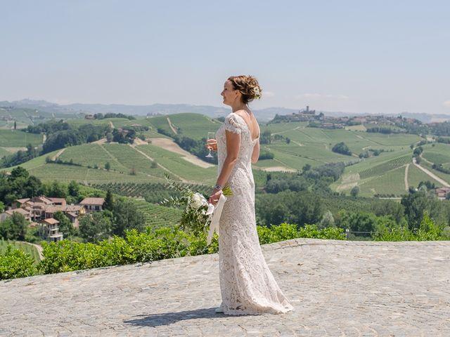 Il matrimonio di Jarle e Hedvig a La Morra, Cuneo 73