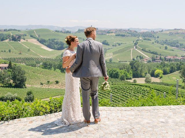Il matrimonio di Jarle e Hedvig a La Morra, Cuneo 75