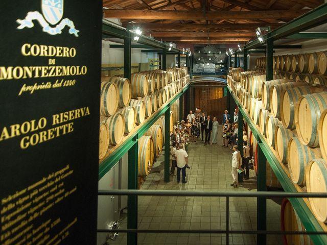 Il matrimonio di Jarle e Hedvig a La Morra, Cuneo 76