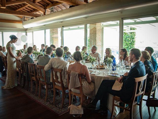 Il matrimonio di Jarle e Hedvig a La Morra, Cuneo 79