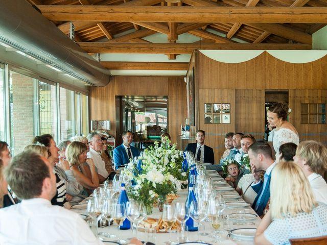 Il matrimonio di Jarle e Hedvig a La Morra, Cuneo 81