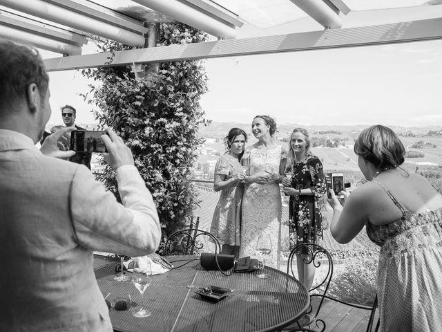 Il matrimonio di Jarle e Hedvig a La Morra, Cuneo 87