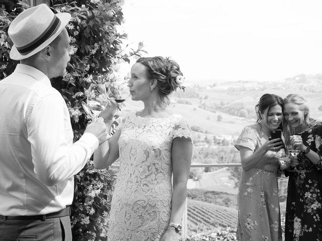 Il matrimonio di Jarle e Hedvig a La Morra, Cuneo 88