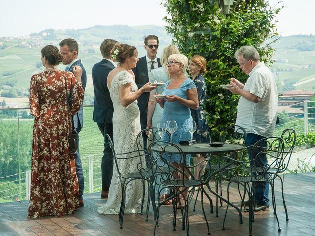 Il matrimonio di Jarle e Hedvig a La Morra, Cuneo 89