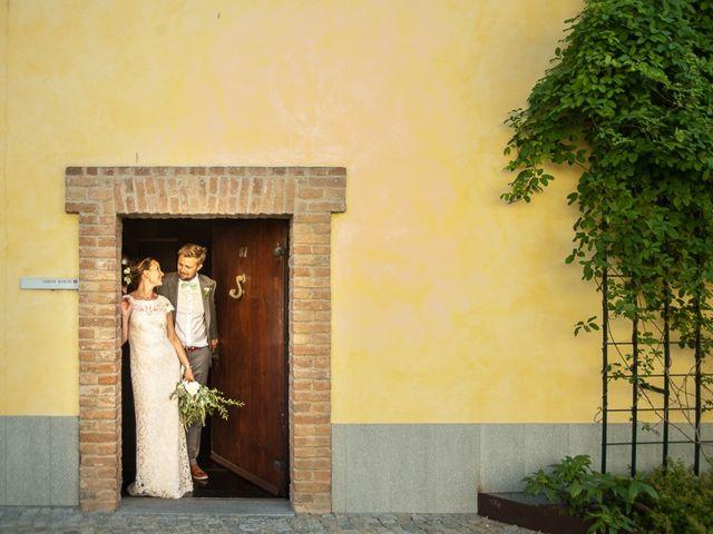 Il matrimonio di Jarle e Hedvig a La Morra, Cuneo 96