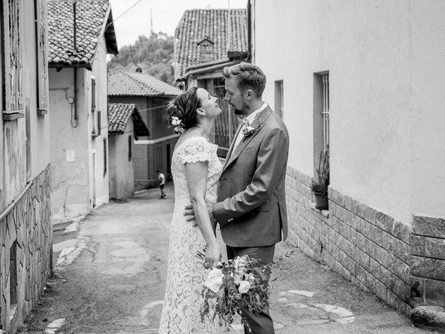 Il matrimonio di Jarle e Hedvig a La Morra, Cuneo 104