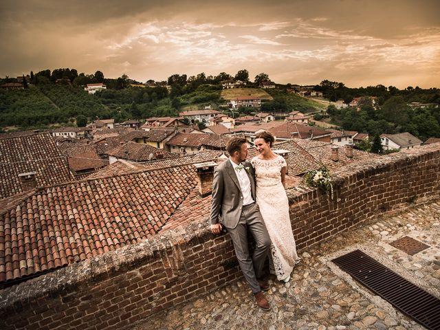 Il matrimonio di Jarle e Hedvig a La Morra, Cuneo 106