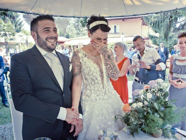 Il matrimonio di Sebastiano e Carmen a Lumezzane, Brescia 34