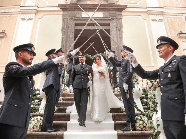 Il matrimonio di Rocco e Caterina a Macerata Campania, Caserta 85