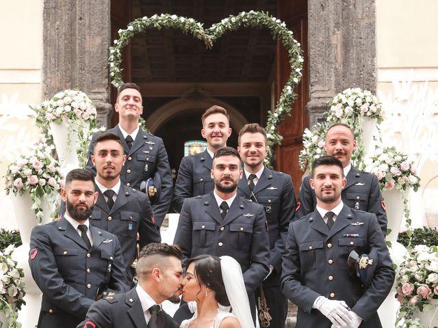 Il matrimonio di Rocco e Caterina a Macerata Campania, Caserta 87