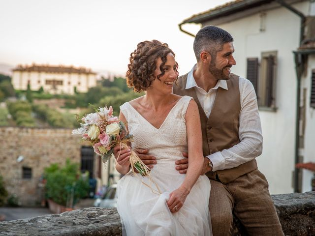 Il matrimonio di Maurizio e Erika a Carmignano, Prato 33