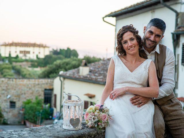 Il matrimonio di Maurizio e Erika a Carmignano, Prato 34