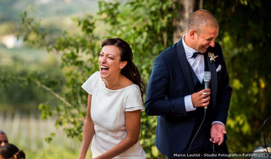 Il matrimonio di Marco e Letizia a Piglio, Frosinone