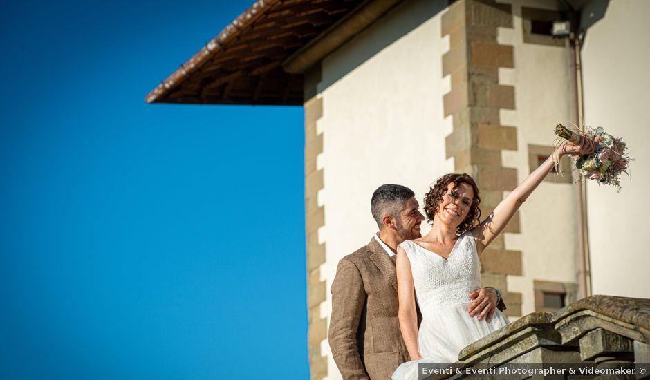 Il matrimonio di Maurizio e Erika a Carmignano, Prato