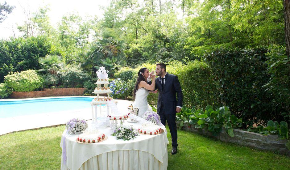 Il matrimonio di Matteo e Sarah a Magnago, Milano