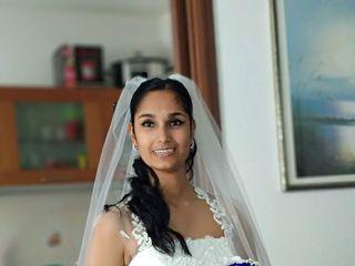 Le nozze di Bhagyashree  e Gabriele  1
