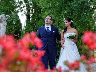 Le nozze di Bhagyashree  e Gabriele
