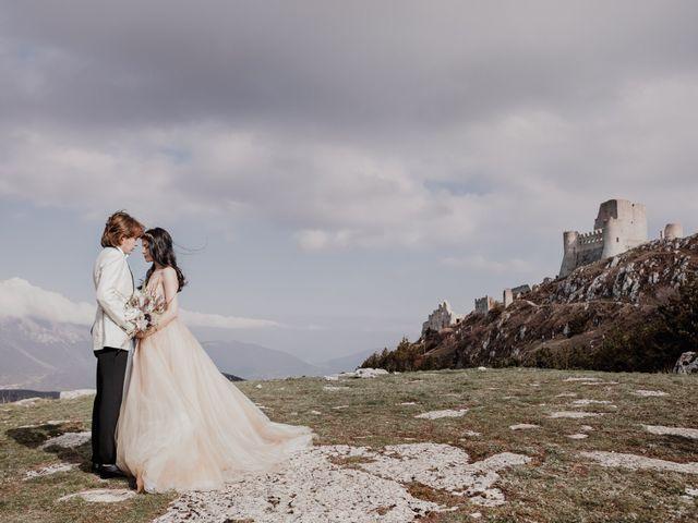 Il matrimonio di Graig e Clare a Calascio, L'Aquila 62