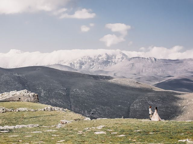 Il matrimonio di Graig e Clare a Calascio, L'Aquila 65