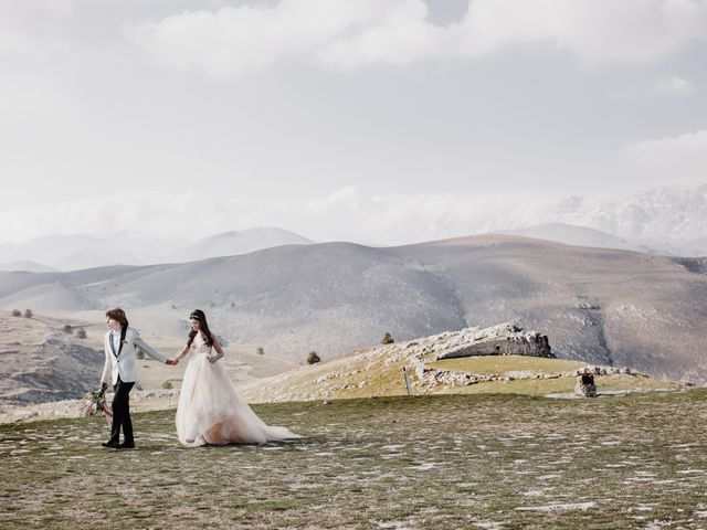 Il matrimonio di Graig e Clare a Calascio, L'Aquila 67