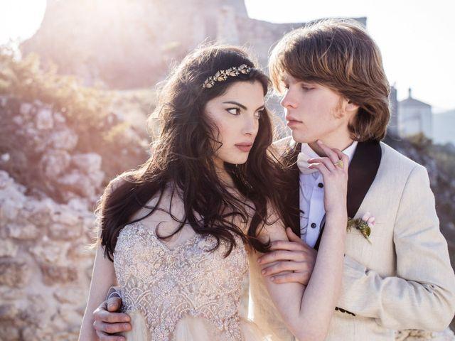 Il matrimonio di Graig e Clare a Calascio, L'Aquila 86