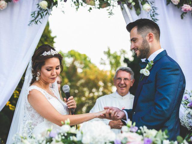 Il matrimonio di Marco e Aida a Imbersago, Lecco 21