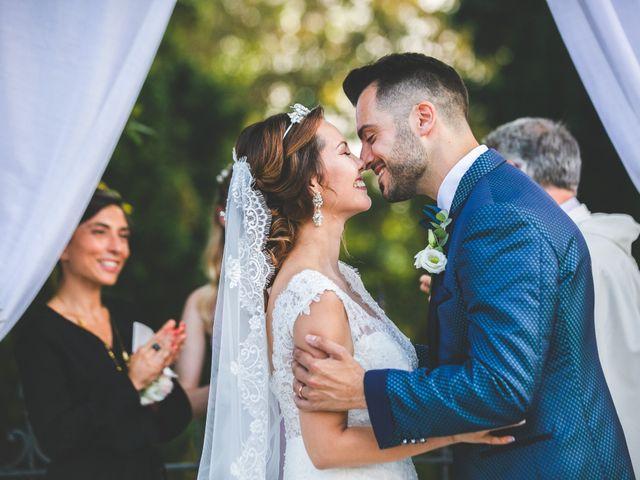 Il matrimonio di Marco e Aida a Imbersago, Lecco 23