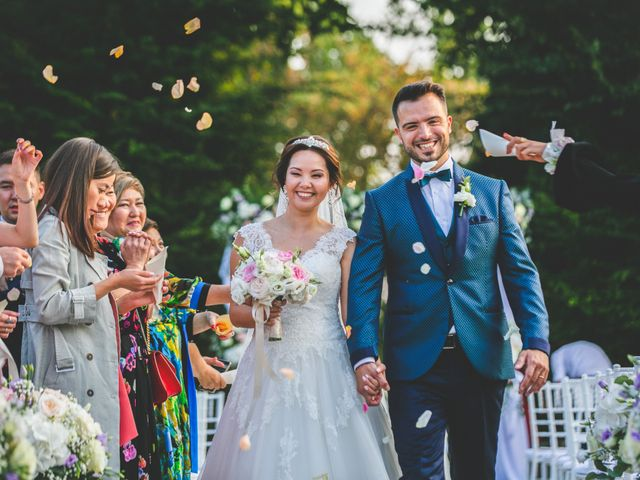Il matrimonio di Marco e Aida a Imbersago, Lecco 25