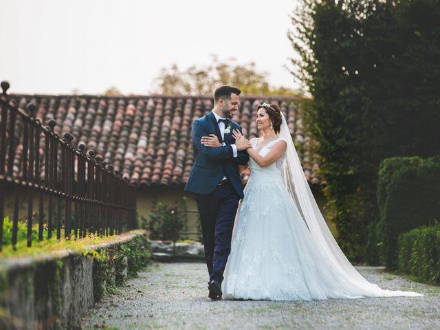 Il matrimonio di Marco e Aida a Imbersago, Lecco 30
