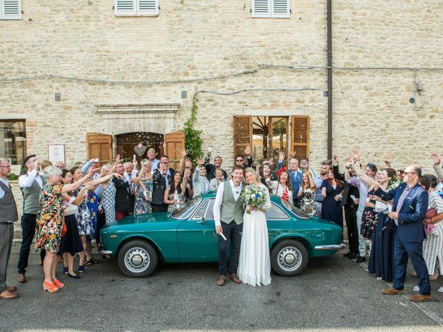 Le nozze di Freya e James
