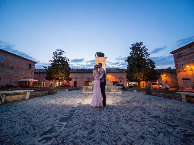 Il matrimonio di James e Freya a Servigliano, Fermo 1