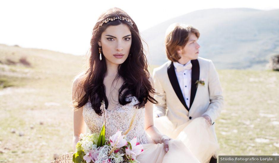 Il matrimonio di Graig e Clare a Calascio, L'Aquila