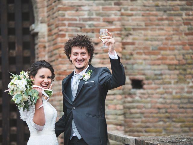 Il matrimonio di Andrea e Stefania a Castell'Arquato, Piacenza 81
