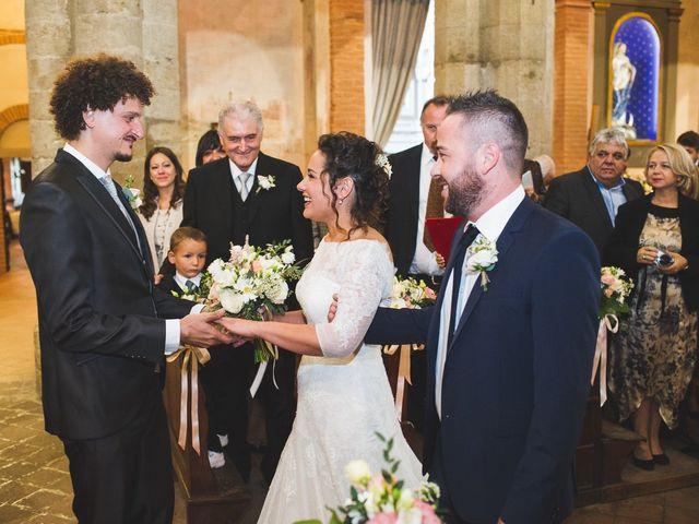 Il matrimonio di Andrea e Stefania a Castell'Arquato, Piacenza 40