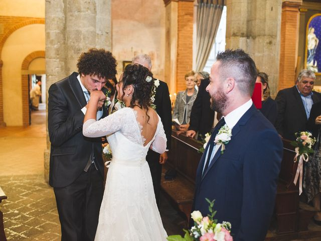 Il matrimonio di Andrea e Stefania a Castell'Arquato, Piacenza 41