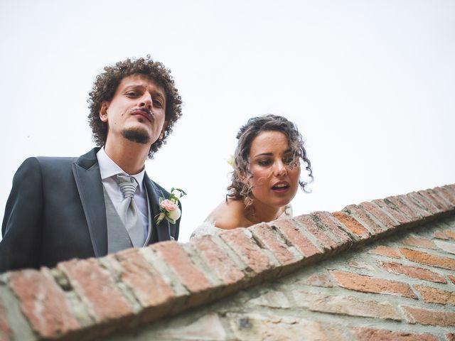 Il matrimonio di Andrea e Stefania a Castell'Arquato, Piacenza 99