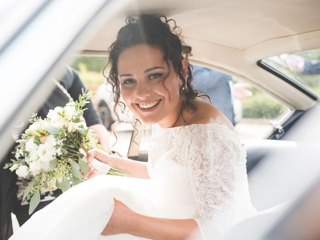 Il matrimonio di Andrea e Stefania a Castell'Arquato, Piacenza 22